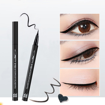 OSW Fashion Black Long Lasting Eye Liner Pencil Waterproof Eyeliner Smudge-Proof Cosmetic Sexy Brown Beauty Eyes Makeup image