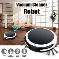 3in1 Smart Robot Vacuum Cleaner for Home Office Sweeping Robot Sweep Suction Drag Machine 1200PA Wet Dry Vacuum Cleaner Sweeping