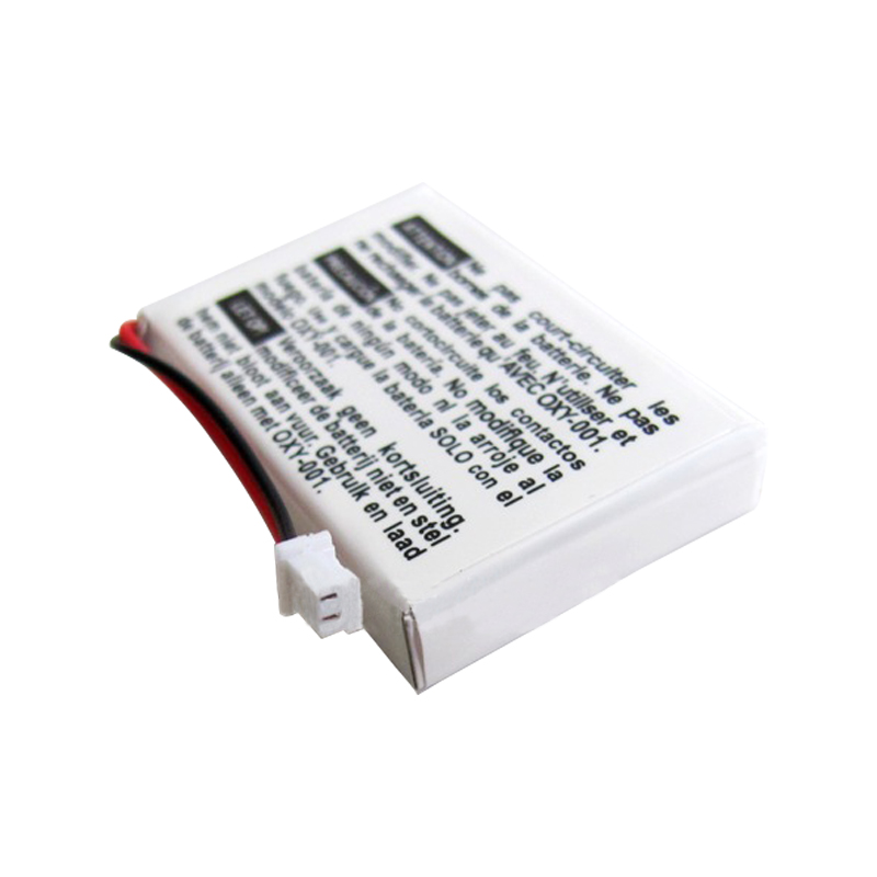 2Pcs 460mAh Rechargeable Lithium-ion Battery Pack with Tool Kit for Nintendo GBM Game Boy Micro Battery