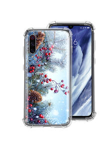 Snowflake-Case Phone-Cover Christmas Xiaomi Redmi for Note-8t 9S 8-7/K20/9-pro K30 5G