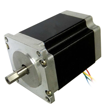 Nema23 Stepper Motor 23HS8430 4-Lead 76mm 2.8A Router Engraving Machine for 3D Printer In Stock image