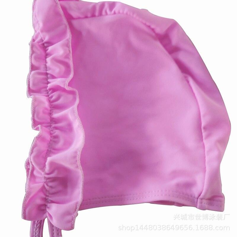 Hot Selling New Style One-piece Swimsuit For Children Sun-resistant Girls CHILDREN'S Skirt Cute South Korea Swimwear Baby Swim B