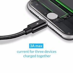 Image 2 - ORICO 3 en 1 Type C 8Pin Micro câble USB pour iPhone 8X7 6 6S Plus iOS 10 9 8 Samsung Nokia USB câbles de charge rapide cordon