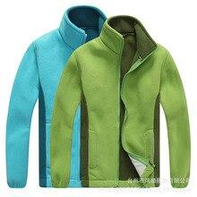 Осенне-зимняя детская флисовая Толстая Теплая Флисовая Куртка для мальчиков и девочек