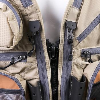 Fishing Vest Men Outdoor Breathable Safety Life Vest Fly Fishing Jacket Waist Coat Vest Utility Floating Men\'s Clothing