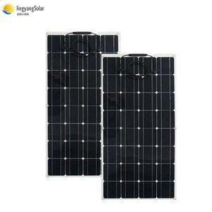 Image 3 - 400Wเท่ากับ4Pcs 100Wแผงโซลาร์เซลล์Mono Solar Cell 100W 12V solar ChargerสำหรับRVหลังคาบ้านเรือ200W 300W
