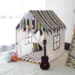 Ins baby zelt Massivholz kinder Zelt Prinzessin Schloss Spiel Haus Baby Haus Baby Spielzeug Bett Ecke