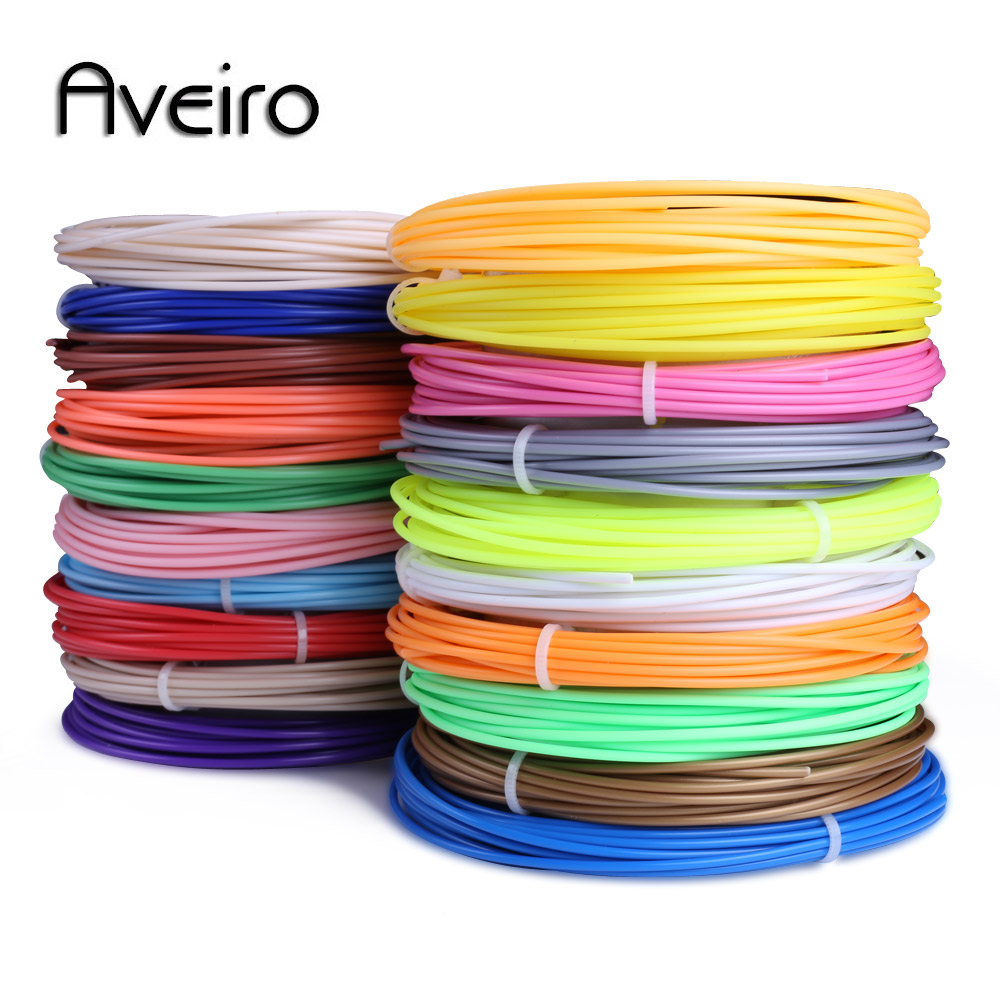 3D Pen PLA Filament 200 Meters 20 Colors 1.75MM Threads Plastic 3 D Printer Materials For 3D Printing Pens Kid Birthday's Gifts