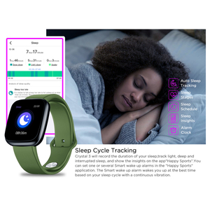Image 4 - Zeblaze ساعة ذكية كريستال 3 الذكية الفرقة 1.3 بوصة شاشة Mulit اللغة WR IP67 معدل ضربات القلب ضغط الدم عمر البطارية الطويل IPS