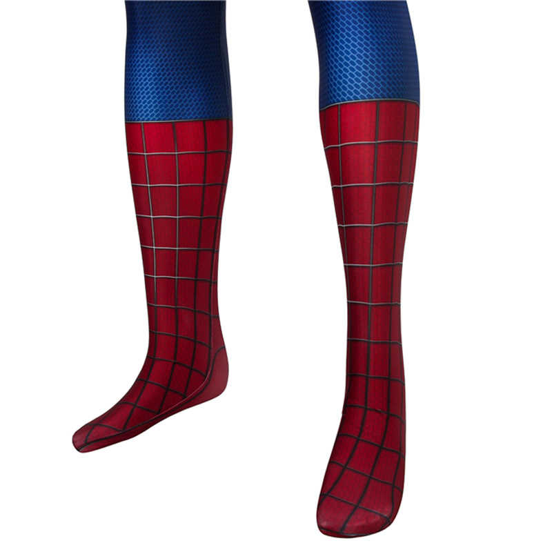 Marvel l'incroyable Spider-Man déguisement Peter Parker Spiderman Cosplay adulte Halloween carnaval body Zentai homme masque fête 4D