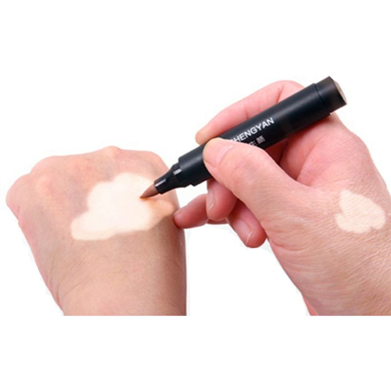 Vitiligo Makeup Waterproof Instant Skin Patches Coating Cover Lotion Conceal Pen On Face Body For Women Men Kids XISHENGYAN 5pc