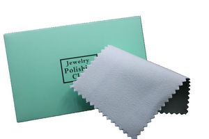 Image 1 - 100 шт. Серебряная Чистящая полировальная ткань посылка кой для протирания ювелирных изделий замши Maintenanc
