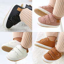 Unisex Baby Shoes Soft Sole Non-Slip Casual Shoes Infant Pre-Walkers for All Seasons