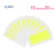 10pcs/lot Hair Removal Wax Strips Roll Underarm Wax Strip Pa