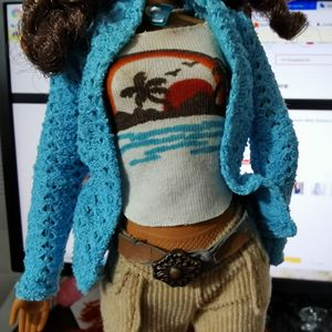 Image 3 - 30cm Limited Style Beautiful Girl 1/6 Doll Women With Clothes Moveable Joints Body Vintage