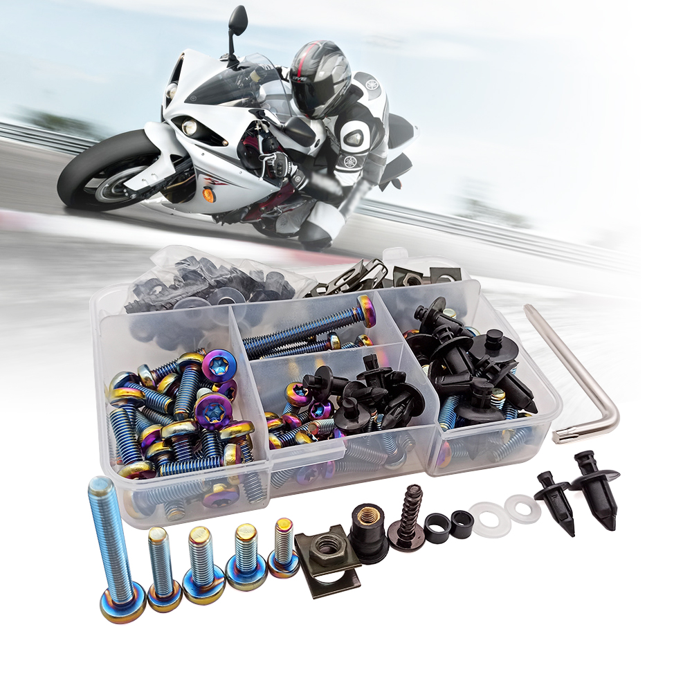 Pour Honda CBR 125 300 R 300 F FA 500 R F X PCX 125 150 RC51 M5 M6 boulons en aluminium moto carénage vis haute qualité fixation