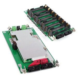 Image 2 - 48v potência parede 18650 bateria titular 48v, bateria bloco de lítio equilibrador pcb 13s 14s 20a 45a bateria ebike bms para diy