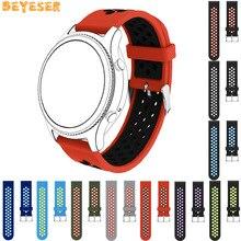 For Samsung Galaxy Watch 46mm wrist strap Sport Silicone watchbands replacement bracelet Huami AMAZFIT sport watch