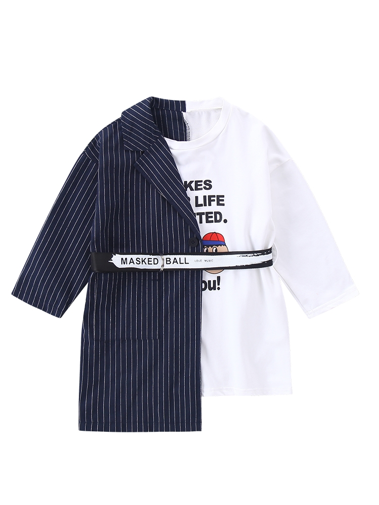 Children's Clothing Toddler <font><b>Girl</b></font> Blazers <font><b>Dresses</b></font> Kids <font><b>Girls</b></font> <font><b>T</b></font> <font><b>Shirt</b></font> <font><b>Dress</b></font> <font><b>Girls</b></font> Tops <font><b>T</b></font> <font><b>Shirt</b></font> Long Sleeve Kids <font><b>Dresses</b></font> for <font><b>Girls</b></font> image