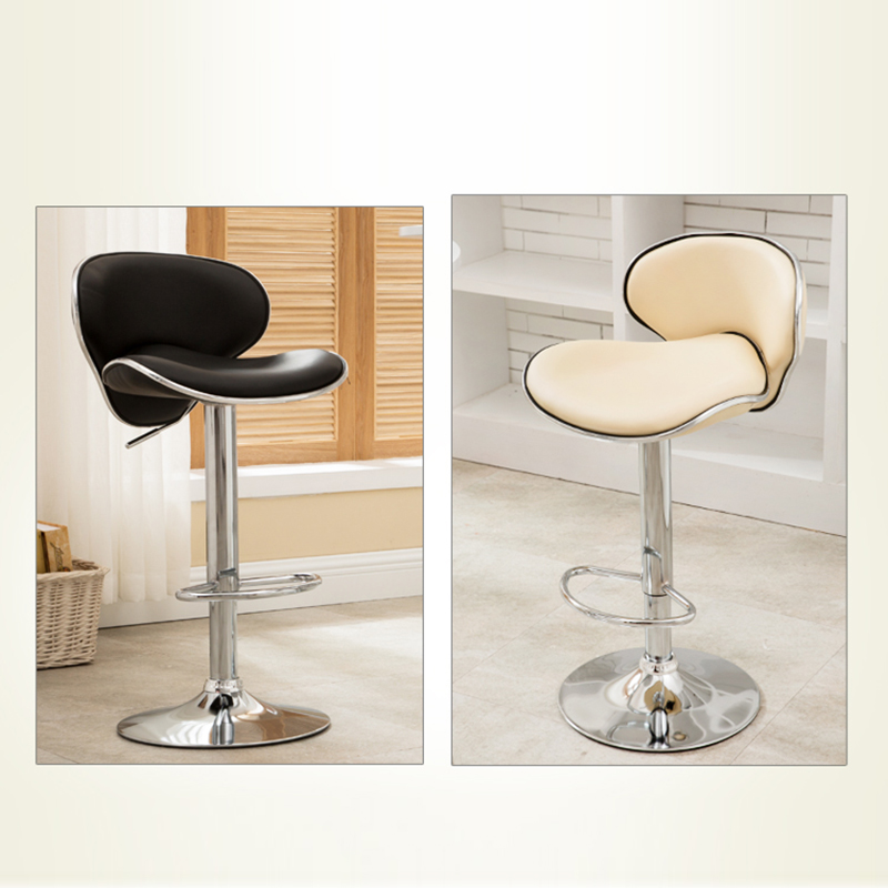 Pub Chair Counter Swivel Bar Adjustable Modern Style 2PCS Height Colorful Swivel Bar Chair Height Pneumatic Pub French Delivery