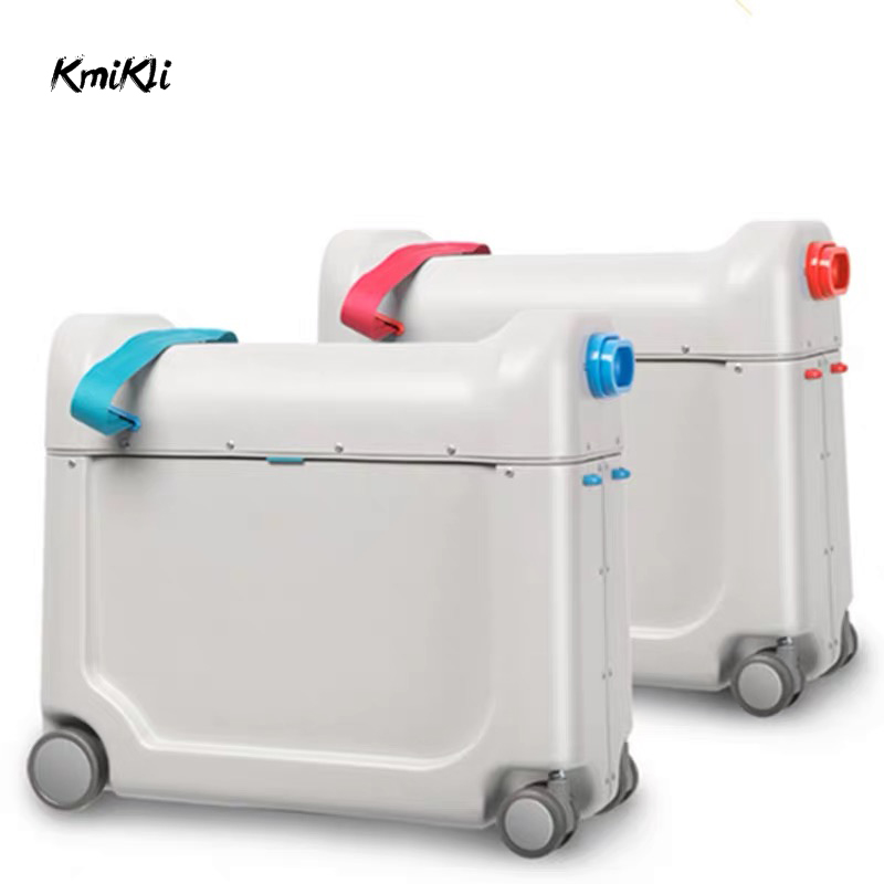 Ride-Box Bed-Luggage Sleeping-Suitcase-Bag Valise Travel Kids Children's Multi-Function