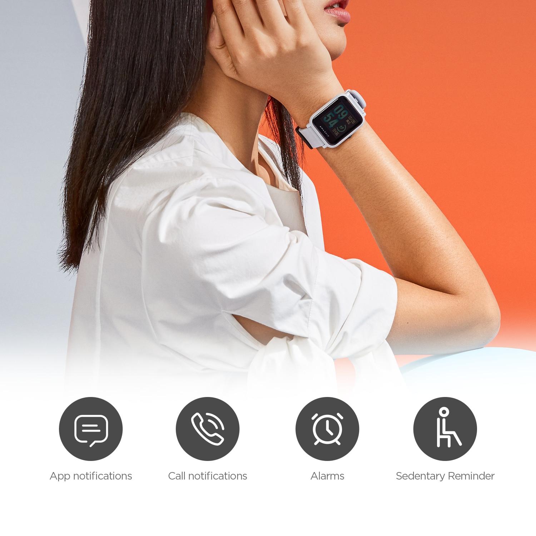 Closeout DealsSmart-Watch Vibration Reminder Sport-Heart-Rate-Monitor Amazfit Bip Bluetooth Ip68 Waterproof