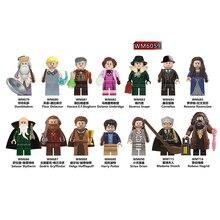 WM6059 Single Sale Dumbledore Cornelius Rowena Salazar Godric Gryffindor Helga Siriu Building Blocks Model Toys For Children DIY