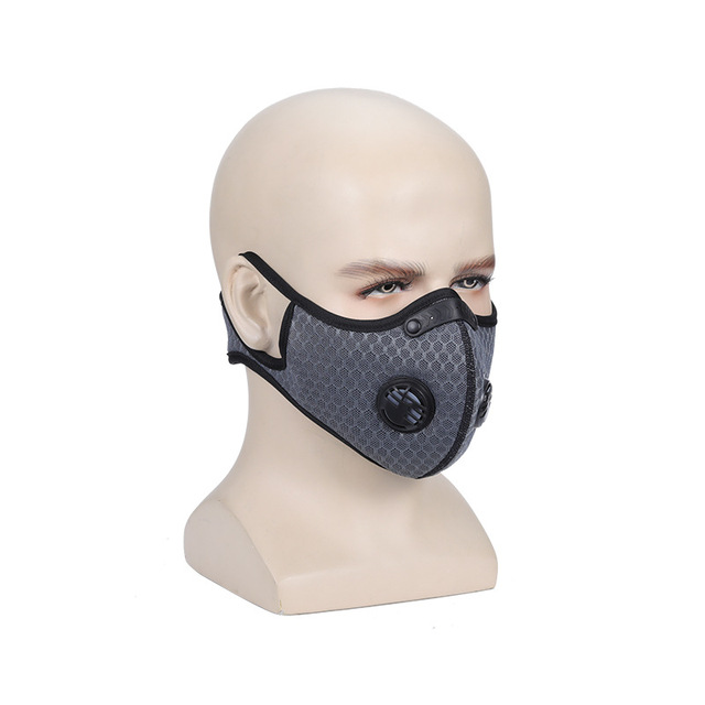 mask PM2.5  face mask carbon Activated carbon anti-flu anti-dust  mouth Gas  Reusable Anti-dust, anti-pollution,Anti-saliva 3