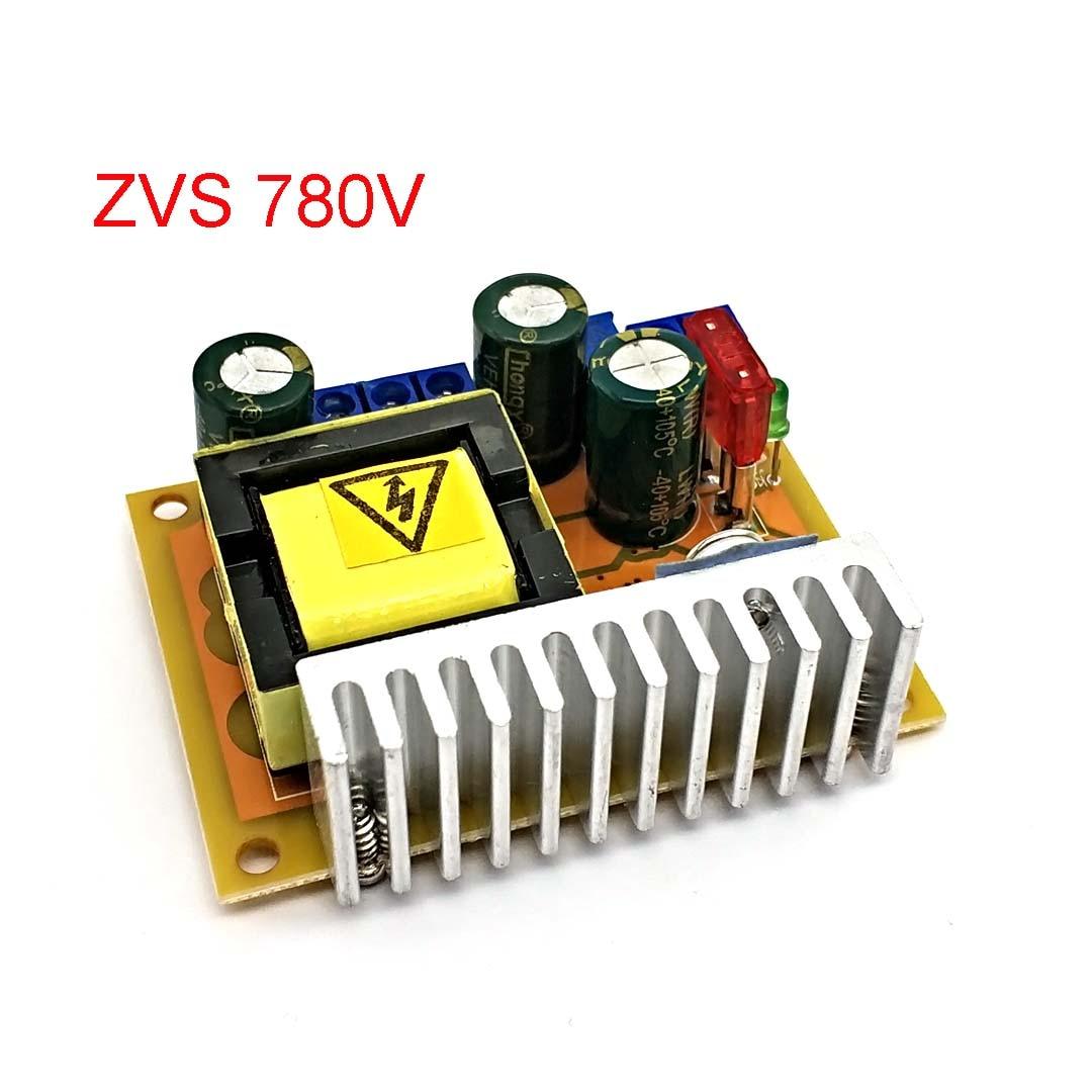 Новый высоковольтный конденсатор для зарядки ZVS boost, модуль пистолетов 45-390 в 780 в, Регулируемый регулятор с одним выходом