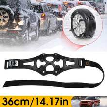2x 8x Winter Car Tire Snow Chain Ice Road Adjustable Anti-skid Safety Anti Skid Snap Wheel TPU Chains For Truck Car SUV(China)