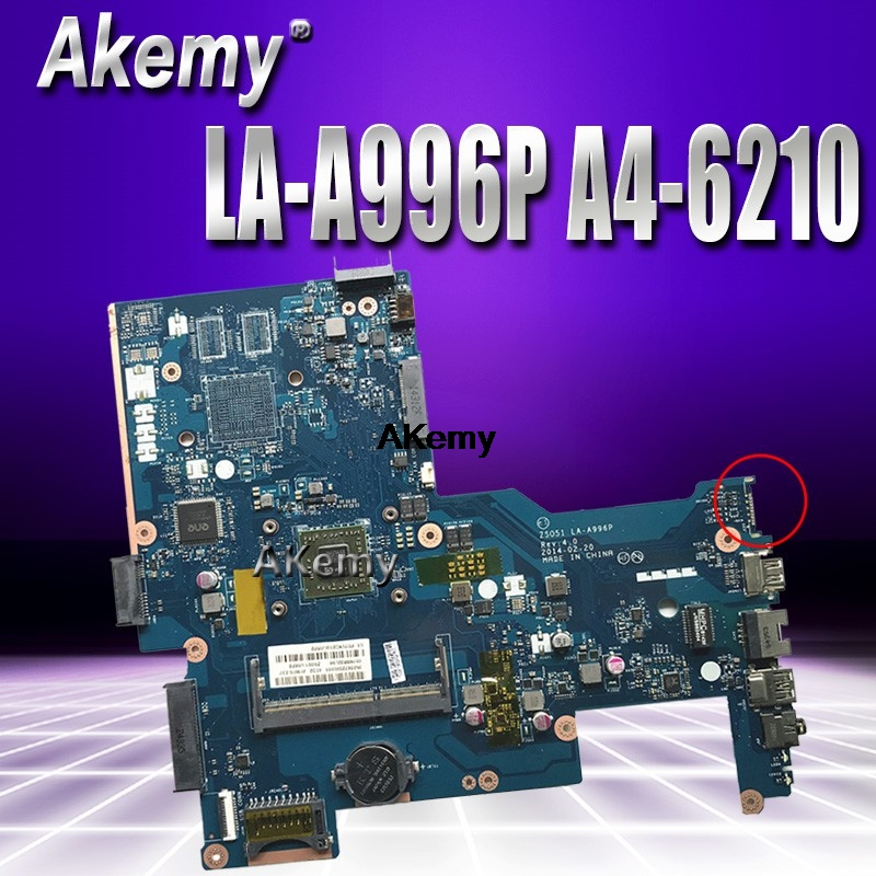Excellent 764265 501 For HP 15 G Laptop Motherboard With A4 6210 CPU DDR3 ZSO51 LA A996P 100% Working|Motherboards| |  - title=