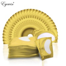 100 pairs Under Eyelash Pad Patch For Eyelashes Extension Lash Under Lash Pad Paper Patches Grafted Eye Stickers Tips Sticker