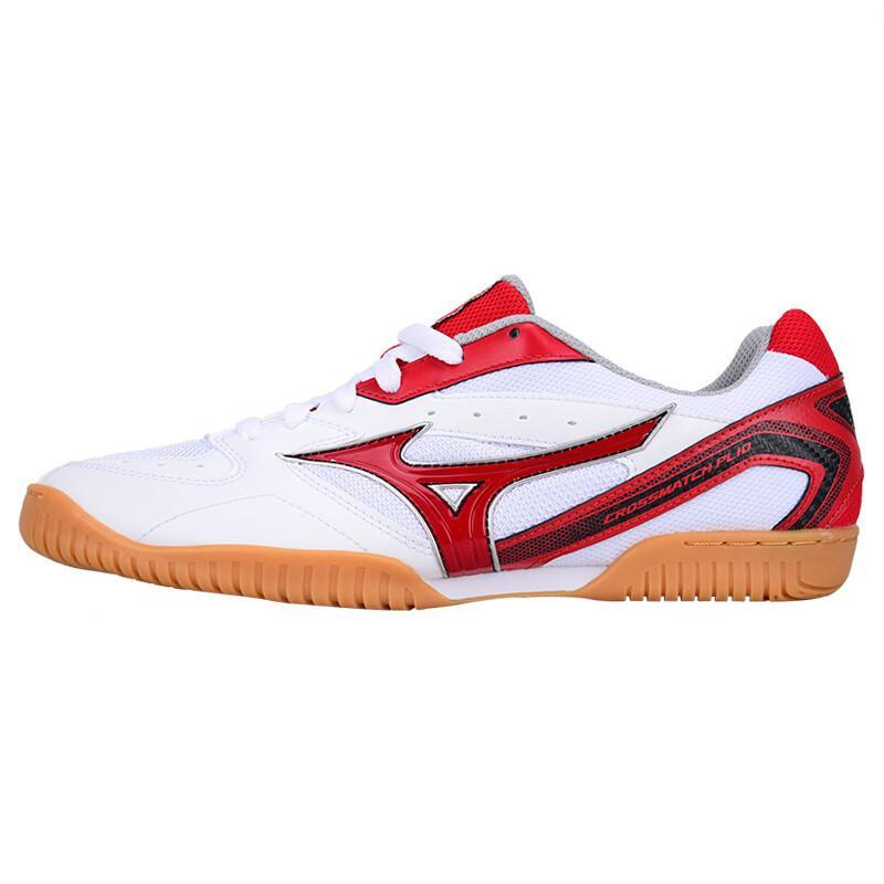 Оригинальная обувь Mizuno Cross Match Plio Cn для настольного тенниса для мужчин и женщин; обувь для тренировок в помещении; амортизирующая национальная команда; кроссовки - Цвет: 81GA183062