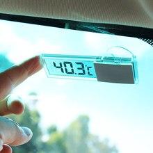 1 pçs carro inteligente lcd digital termômetro acessórios para lada niva kalina priora granta largus vaz samara 2110 gaz gazela