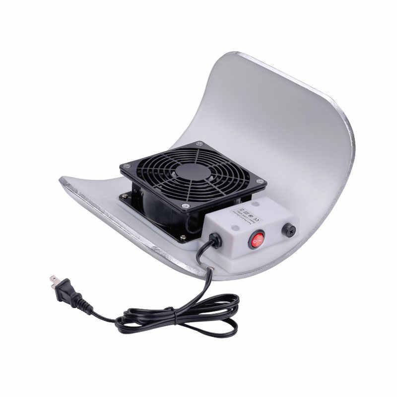 חזק נייל אבק אספן מכונת 23w 2700RPM מניקור יניקה שואב אבק 1 מאוורר נייל אמנות כלי נייל סלון ניקוי אבק