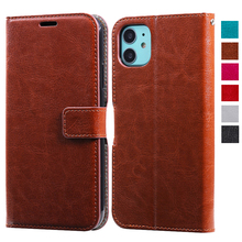 For iPhone 11 Pro X XS MAX XR 6 6S 7 8 Plus 5 5S Leather Book Cover With Card Slots Luxury Flip Wallet Case Money Pocket 3 card slots wallet crazy horse leather mobile case for iphone 7 plus 5 5 brown