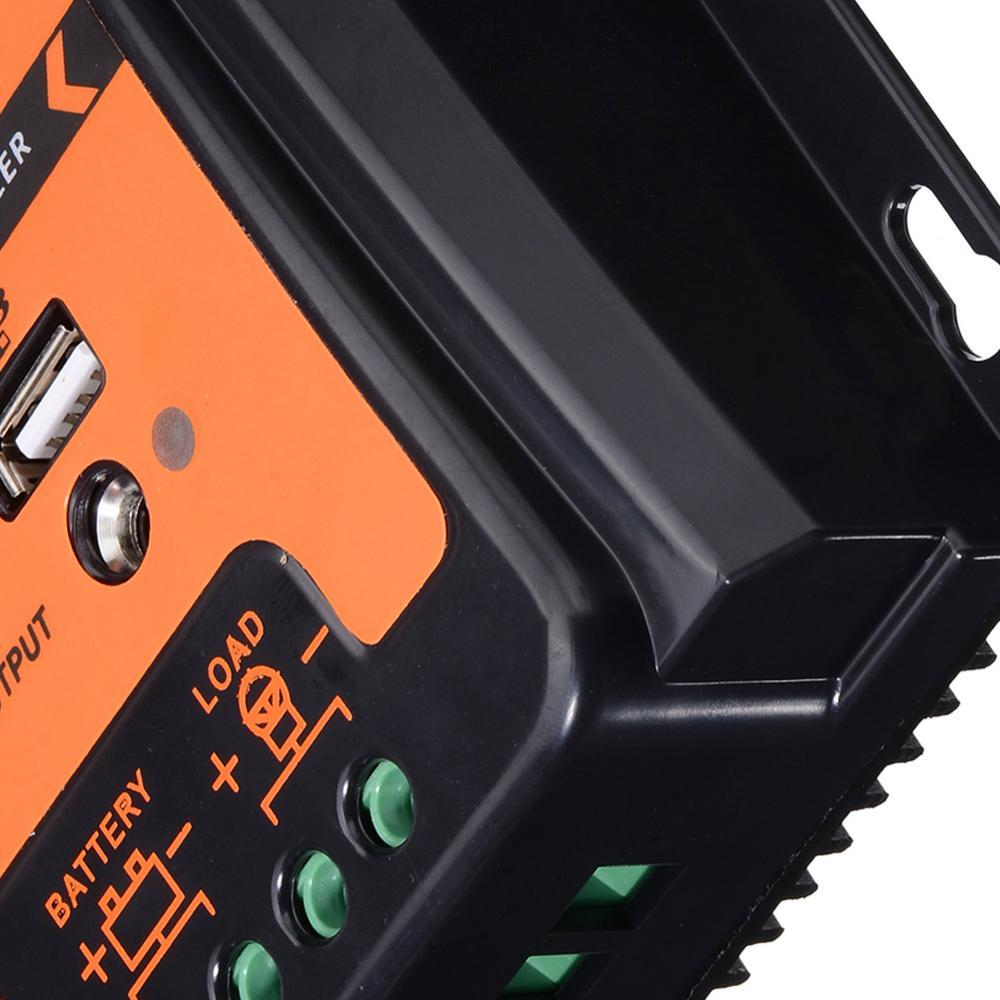 controlador de carga solar inteligente 12v 24v 04