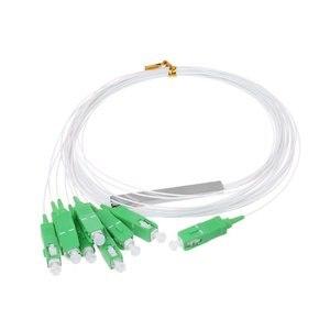 Image 3 - 10 PCS/Lot 1X2 1X4 1X8 1X16 1X32 PLC SC/APC SM 0.9mm G657A1 PVC 1m FTTH Fiber Optic Splitter