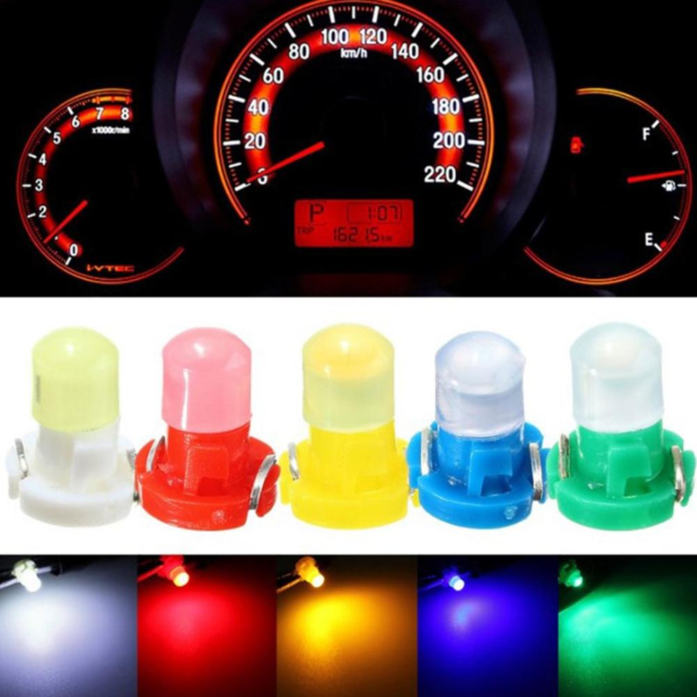 Durable Car Led Reading Light T5 T4.7 T3 Cob 1Smd Instrument Light Indicator Light Highlight Modified Lamp