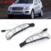 C-auto esquerda e direita espelho de carro vire a luz do sinal lâmpada lateral para mercedes benz w164 x164 w164 ml gl300 r320 r350 r450 r500