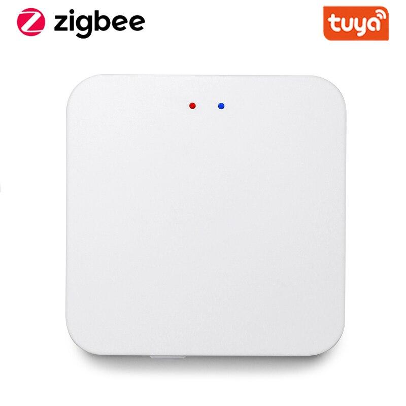 Tuya Smart ZigBee концентратор шлюз умный дом мост приложение Smart Life Беспроводной пульт дистанционного управления работает с Alexa Google Home