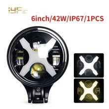 IP67 lampes de travail Led avec faisceau haut/bas lampe de conduite Offroad LED barre lumineuse de travail 4x4 4WD ATV UTV SUV LED travail ight pour 4WD 4x4