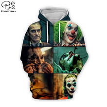 PLstar Cosmos Hot movie Joker Joaquin Phoenix Colorful Harajuku Tracksuit 3D Print Hoodie/Sweatshirt/Jacket/shirts Men Women s-5