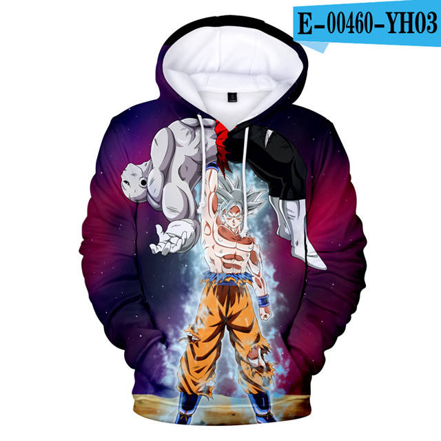 Cosplay Hoodies Dragon Ball Goku 3D Hoodie High Quality Clothes