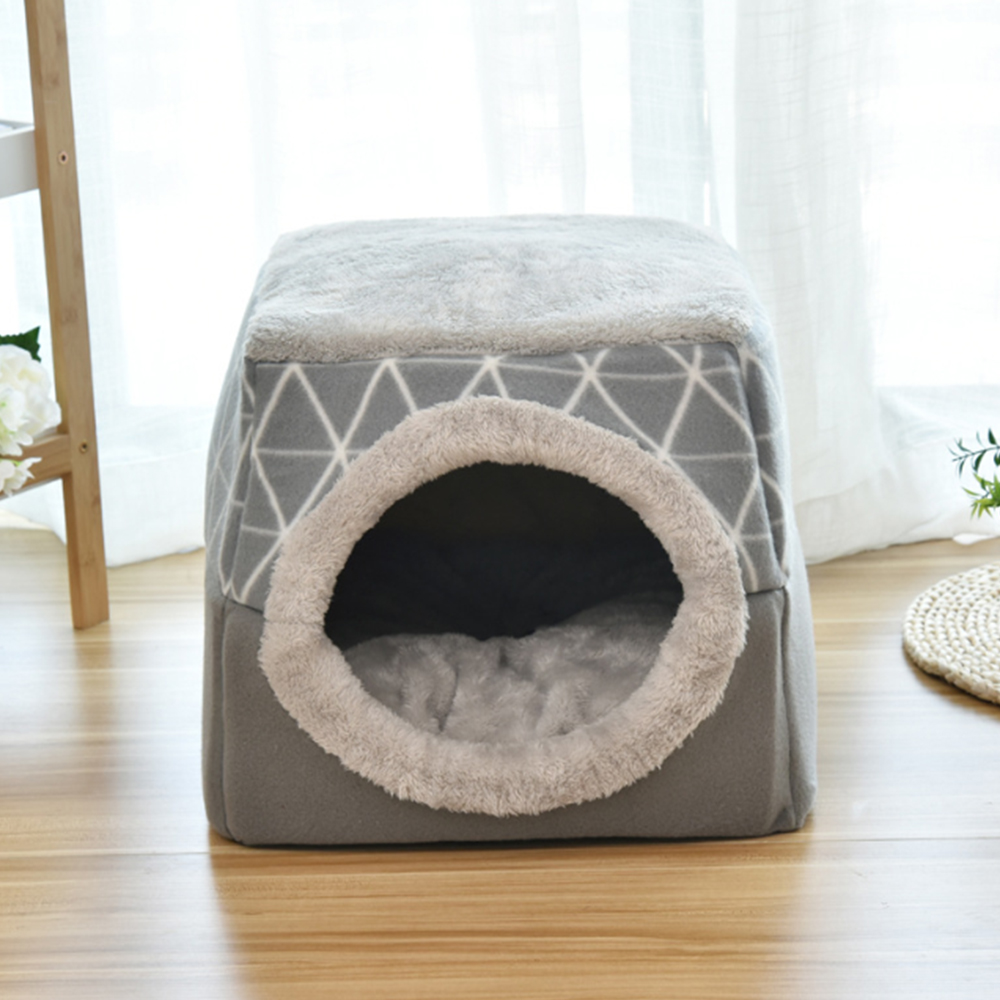 Cat Bed House Pet Nest Warm Winter Dog Sofa House Cushion Cat Pet Christmas Gifts