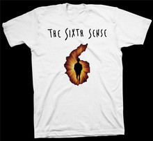 The Sixth Sense T-Shirt M Night Shyamalan Bruce Willis Film Hollywood Cinema 2Xl 3Xl 4Xl 31Xl Tee Shirt(China)