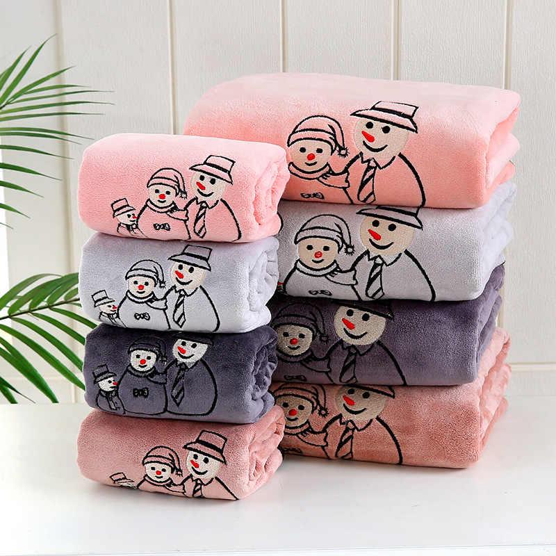 GIANTEX Yumuşak Mikrofiber Yüz Havlusu Süper Emici Banyo Havlu Yetişkinler Için 35x75cm toallas peçete recznik handdoeken