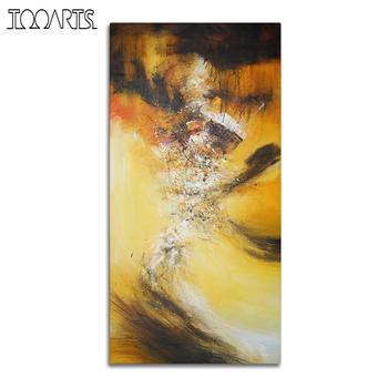 Tooarts| Wall Art Oil Painting Hand Painted Blaze Themed Natural Scenery Art Decor on Canvas Modern Art Pictures for Home Office