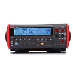 UNI-T UT805A 199999 отсчетов Высокая точность Ture RMS LCD настольный цифровой мультиметр Вольт Ампер Ом Емкость Гц Тестер