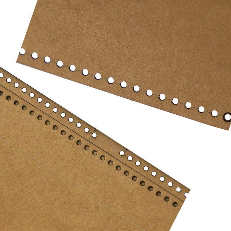 Skórzany design wzór diy kraft wytwarzanie papieru szablon na ramię na ramię wzór torby rysunek okrągła torba wzór torby narzędzie skórzane